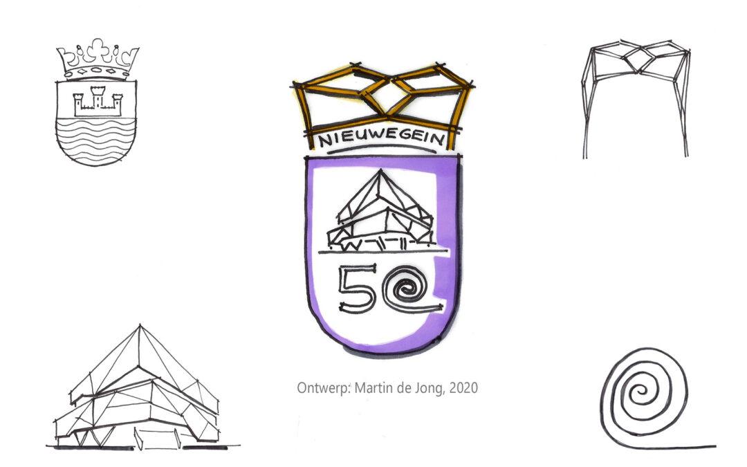 Ontwerp logo Nieuwegein 50 jaar